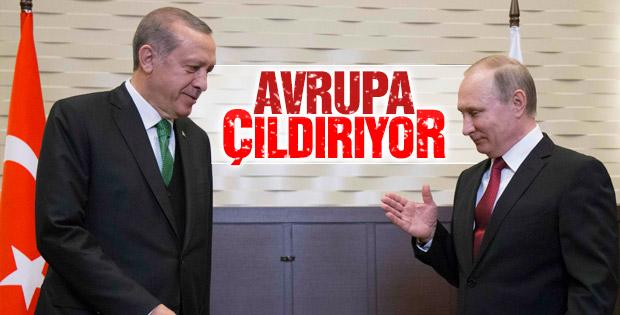 """Putin; """"Türkiye İle İlişkilerimiz Gitgide Gelişiyor"""" Dedi"""
